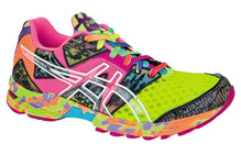 Asics Women's Gel Noosa TRI 8 W flash yellow/flash pink/multi